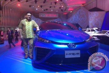Toyota kenalkan Mirai berbahan bakar hidrogen
