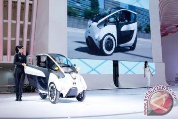 Ini tampilan mobil listrik Toyota i-Road