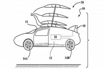 Toyota patenkan sayap untuk mobil terbang