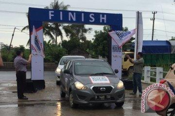 "Ekspedisi Datsun etape kedua ""finish"" di Banjarmasin"