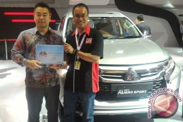 "All New Pajero Sport sabet penghargaan ""Most User Friendly Car"""
