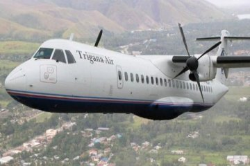 Trigana Air Layani Rute Biak Serui Antara News Papua