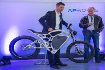 Airbus pamer sepeda motor hasil cetak printer 3D