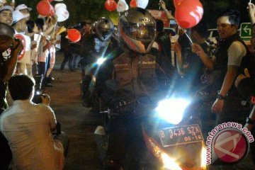 Tiba di Makassar, 20 petualang Supra GTR 150 lahap 3.000 km