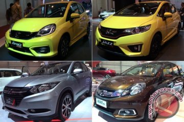 Honda tidak naikkan harga mobil baru selama GIIAS 2018