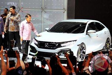 Honda Civic Hatchback dimasukkan ke Indonesia pada awal 2017