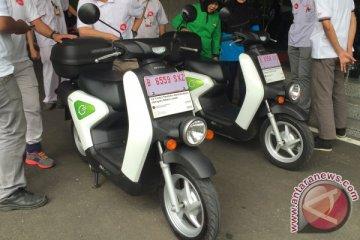 Sepeda motor listrik Honda EV Neo diuji coba bersama Kementerian Perhubungan