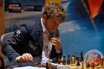 Seru, GM Rusia dan GM Norwegia berebut predikat jago catur dunia