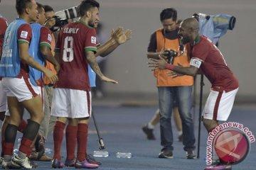 Indonesia bermain imbang lawan Filipina 2-2