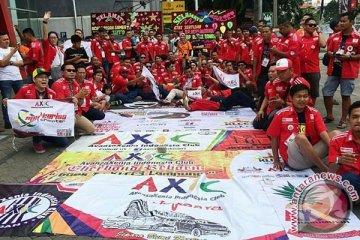 AXIC kampanye road safety di Lampung
