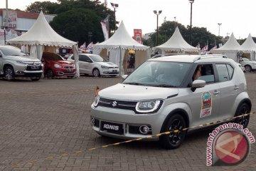 Suzuki lampaui target penjualan di IIMS 2017