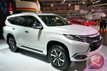 Hingga kemarin, hampir 600 unit Mitsubishi Pajero Sport terjual di IIMS 2017