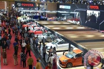 Sebanyak 4.652 unit mobil Toyota dipesan selama IIMS 2017