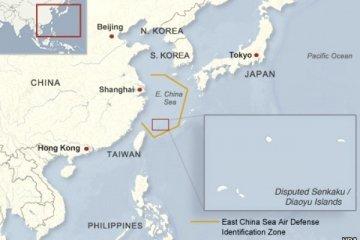 Kapal Jepang dan China bertabrakan di Laut China Timur