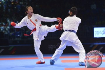 Timnas karate selesaikan program latihan di Mesir