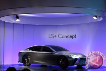 Lexus LS+ Concept, mobil mewah swakemudi