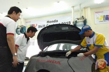 Honda gelar kompetisi keterampilan demi tingkatkan kualitas pelayanan