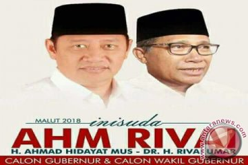 KPU tetapkan paslon AHM/Rivai pemenang Pilkada Malut