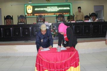 Pengesahan APBD Gorontalo Utara 2018