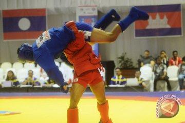 Sambo, empat nomor tarung, 69 atlet