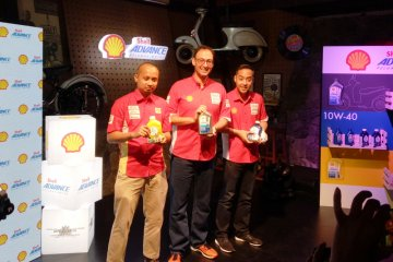 Shell Lubricants hadirkan dua pelumas khusus motor skutik