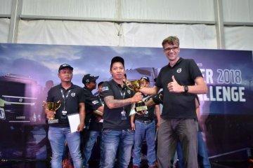 Pengemudi truk asal Kalimantan wakili Volvo Indonesia berkompetisi di Swedia