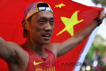 China juara umum atletik