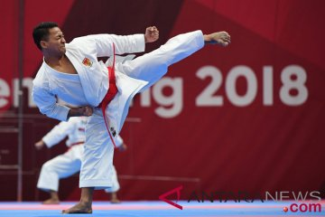Jadwal karate nomor Kumite, tiga atlet Indonesia siap tarung