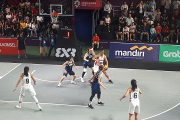 Dua medali emas diperebutkan di basket 3X3