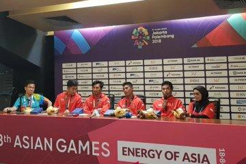 Teknik mengoper tongkat kunci Indonesia raih medali