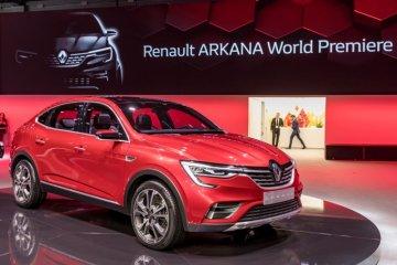 Renault Arkana diluncurkan di Moscow International Auto Show 2018