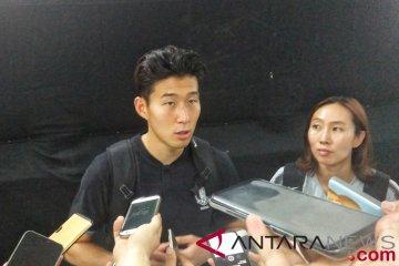 Heung Min Son siap hadapi siapapun di final sepak bola