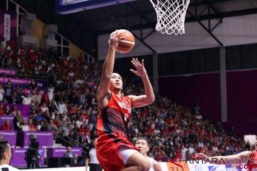 Basket putra Indonesia ke perempat final meski kalah dari Mongolia
