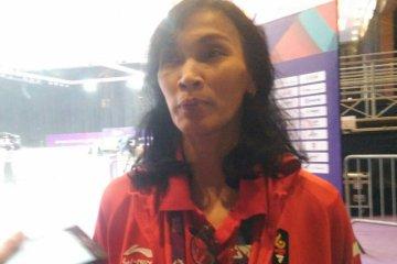 Dua pesenam Indonesia tanding di final senam ritmik