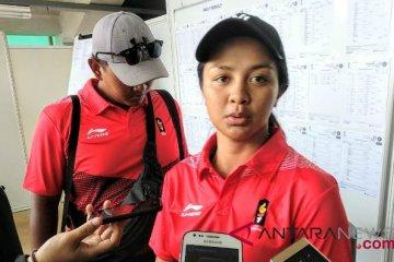 Tim compound putri Indonesia tersingkir