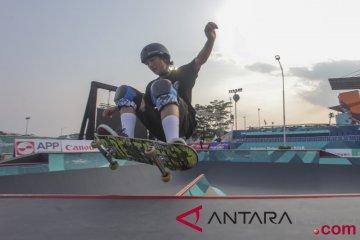 Indonesia andalkan emas cabang skateboard dari Sanggoe dan Pevi