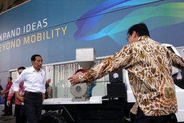Jokowi minta industri otomotif dukung penerapan biodiesel 20 persen