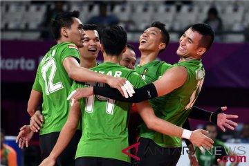 Jadwal pertandingan bola voli putra, petenis Indonesia siap tantang Korsel