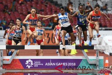 16 pelari melaju ke babak semifinal 200 meter putri