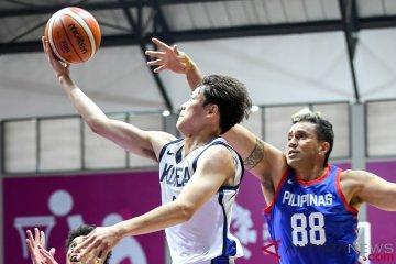 Lewati Filipina, basket putra Korsel melenggang ke semifinal
