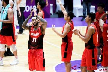 Beda nasib basket Indonesia, putri ketujuh putra kedelapan