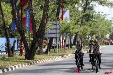 Satgas pengamanan Asian Games Palembang masih siaga