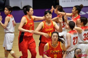 Jadwal basket hari ini, tantangan putri China dan pembuktian putra Indonesia