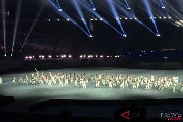 Atraksi pencak silat buka preshow penutupan Asian Games 2018