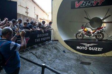 Puluhan ribu penggemar ramaikan Moto Guzzi Open House 2018