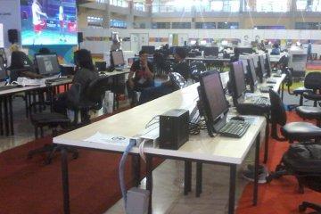 Pewarta peliput Asian Games 2018 di Palembang pulang kampung