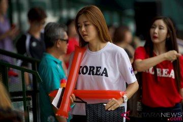 Dirijen cantik bisbol Korea Selatan hantarkan medali emas