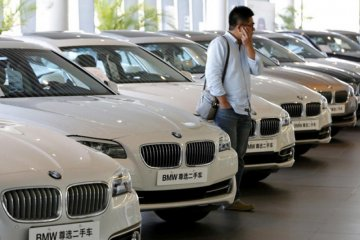 Ratusan ribu mobil BMW ditarik dari peredaran di China