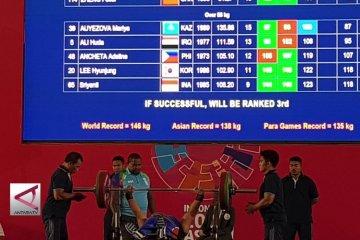 Para-Angkat berat tambah 2 medali untuk Indonesia