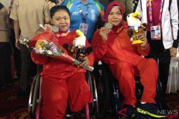 Siti berikan motivasi kepada penyandang disabilitas